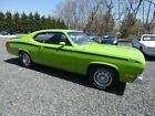 1972 Plymouth Duster 340 Wedge Tribute 1972 Plmouth 340 Duster Sub Lime Green Mopar Financing Available
