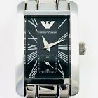 Estate Emporio Armani stainless steel wristwatch with second subdial