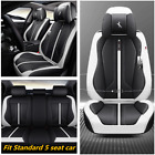 Car Front Seat Cover Cushion 6D Surround Breathable Luxury Microfiber Leather