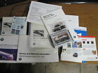 99 BMW 528i 540i Sedan Touring E39 Owner's Manual Set Complete All Included