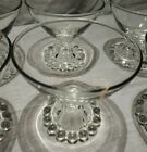 Vintage Anchor Hocking Boopie Champagne Glasses Set of 6