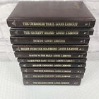 Lot of 10 Louis LAmour Leatherette Collection Lamour Westerns Hardcover Books 2