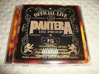 Pantera Official Live 101 Proof promo cd