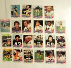 1975 PITTSBURGH STEELERS COMPLETE TOPPS TEAM SET 22 CARDS