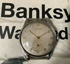 VINTAGE ULYSSE NARDIN 1950 STAINLESS STEEL 35mm VERY NICE