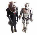 BBC TV cult DOCTOR WHO CYBERMAN  JUDOON 12 alien villain toy figures not boxed