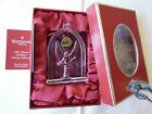 MIB 2007 Waterford Irish Crystal Nativity Angel Ornament w Paperwork and Velvet