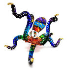 Squid Red Sea Octopus Hand Blown Blowing Glass Art Animal Fancy Collectibles 2