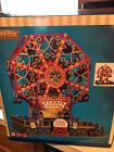 LEMAX VICTORIAN FLYER FERRIS WHEEL Motion SOUND CARNIVAL Christmas VILLAGE Used