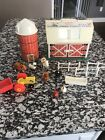 Vintage Fisher Price Little People Play Family Farm Silo Accessories FREE Ship
