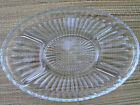 Vintage Mid-Century Indiana Glass Divided 5 Section Oval Plate