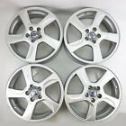 4 Volvo 17x7 BALDER Alloy Rims Wheels 30756703 for S60 V60 S80 XC70 XC60
