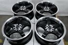 16 Wheels Fusion Accord Civic Prelude Mazda 626 929 Cx 3 Camry Black Rims 5 Lugs