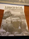 Vintage Tamiya Lunch Box RC Build instruction Manual notice