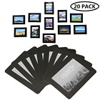 20pack Magnetic Picture Frame Photo Collage Refrigerator Magnet Board Decor B