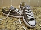 Converse All Star Gray Boys Girls Tennis Shoes Size 13 EUR 31 sneakers