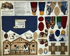 Nativity Scene Fabric Cut Sew Panel VIP Cranston Keepsake Crafts 9 pc Manger Set