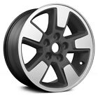 For Jeep Liberty 08 12 Alloy Factory Wheel 16x7 5 Spoke All Painted Charcoal