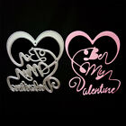 Be my valentine Metal Cutting Dies for DIY Scrapbook Album photo Cards Making XR
