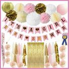 Baby Shower Decorations for Girl Pink and Gold Baby Shower Decoration Its A