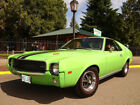 1969 AMC AMX Factory X Code 390 1969 AMC AMX X Code 390 4 Speed PS PDB Special 500 Big Bad Green