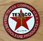 Classic Porcelain Sign - TEXACO - Pump Plate - Automobilia -Oil Lubster - Garage