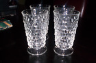 Indiana Glass Whitehall Glasses Set of Four (4) Clear 6