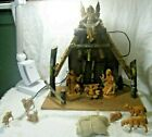 Fontanini Heirloom Nativity set 12 pieces Excellent Condition