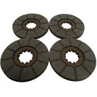 4 Brake Discs fits Farmall M Super M MTA W-6 400 450 1640 1644 503 615 715