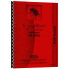 New Farmall 330 Utility Tractor Parts Manual
