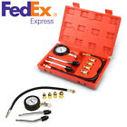 Automotive Motorcycles Petrol Engine Cylinder Compression Test Gauge Tester Kit