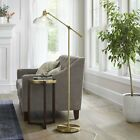 Crosby Glass Shade Floor Lamp Brass Threshold 074 02 2448