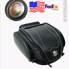 Universal PU Leather Motorcycle Rear Bag Retro Seat Tail Pack Riding USA