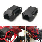 2Pcs 25mm Motorcycle Engine Frame Bar Protection Guards Ground Crash Slider Pads