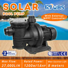 16HP DC Solar Swimming In Above Ground Spa POOL PUMP Motor Strainer 118GPM 110V