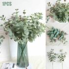 4 Heads Artificial Fake Leaves Eucalyptus Green Plant Leaves Flowers Home Decor