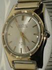 MENS VINTAGE TURTLE AUTOMATIC CHRONOMETER BY ZELL BROS.(ROLEX)SOLID 14 K GOLD SS