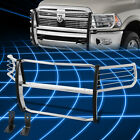 For 10-18 Ram Truck Stainless Steel Front Bumper Grille Brush Guard Replacement