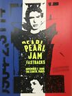 Pearl Jam - 1996 Art Chantry poster Paris France Fastbacks The Zenith