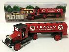 ERTL Texaco 1920 Pierce Arrow Cab with Tanker Die Cast Metal Bank H817