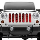 For Jeep Wrangler 87-95 1-Pc Spider Webs Style Perforated Main Grille