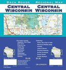 AAA CENTRAL WISCONSIN REGIONAL Travel Road Map Vacation Roadmap FREE SHIPPING
