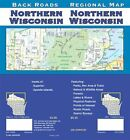 AAA NORTHERN WISCONSIN REGIONAL Travel Road Map Vacation Roadmap FREE SHIPPING