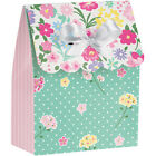 FLORAL TEA PARTY FAVOR BOXES 6 Birthday Supplies Decorations Paper Treat