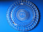Vintage Federal Glass Mid Century Clear Cake Plate