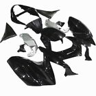 Fits Kawasaki Z750 2004 2005 2006 ABS Plastic Fairing Bodywork Set Black