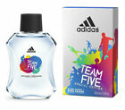 Adidas Team Five for Men by Coty After Shave Splash 3.4 oz New in Box