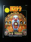 KISS We Are One with video bonus CD Psycho Circus very rare vhs and CD pal forma