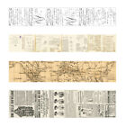 Vintage Washi Tape Decorative Paper Masking Tape Adhesive Scrapbook Sticker BF