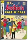 Archies Pals N Gals 27 1963 Giant Series Betty Veronica pin up Page VG FN